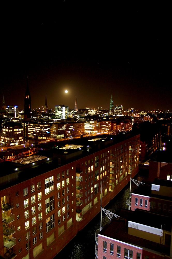 Hamburg .. bei Nacht