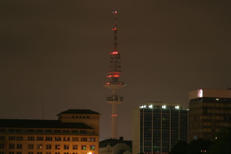 Hamburg bei Nacht - Alster 1