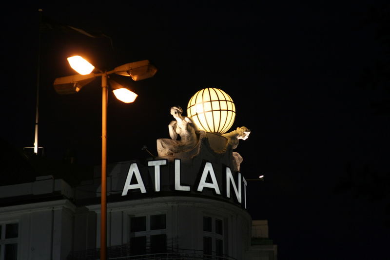 Hamburg bei Nacht - Alster 2