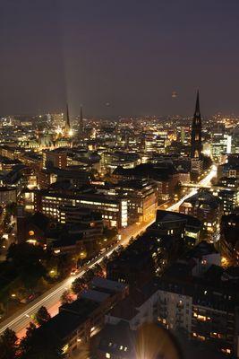 Hamburg bei Nacht I