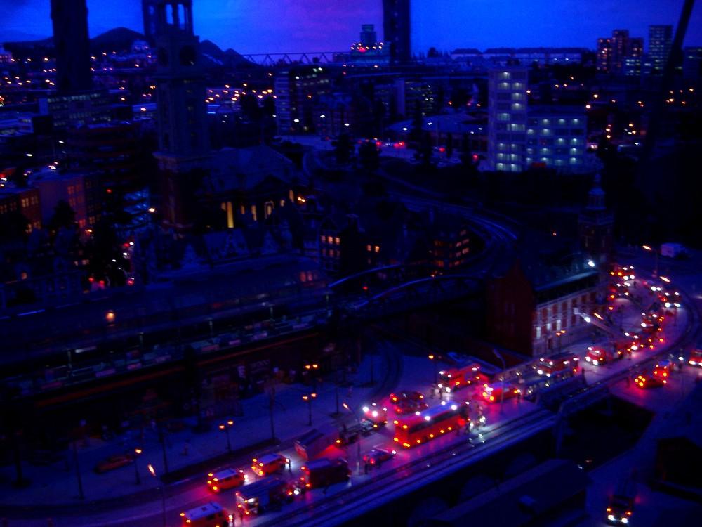 Hamburg bei Nacht > Schein oder Sein ??
