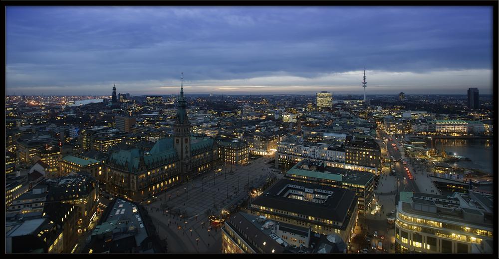 Hamburg, Binnenalster bis Hafen....