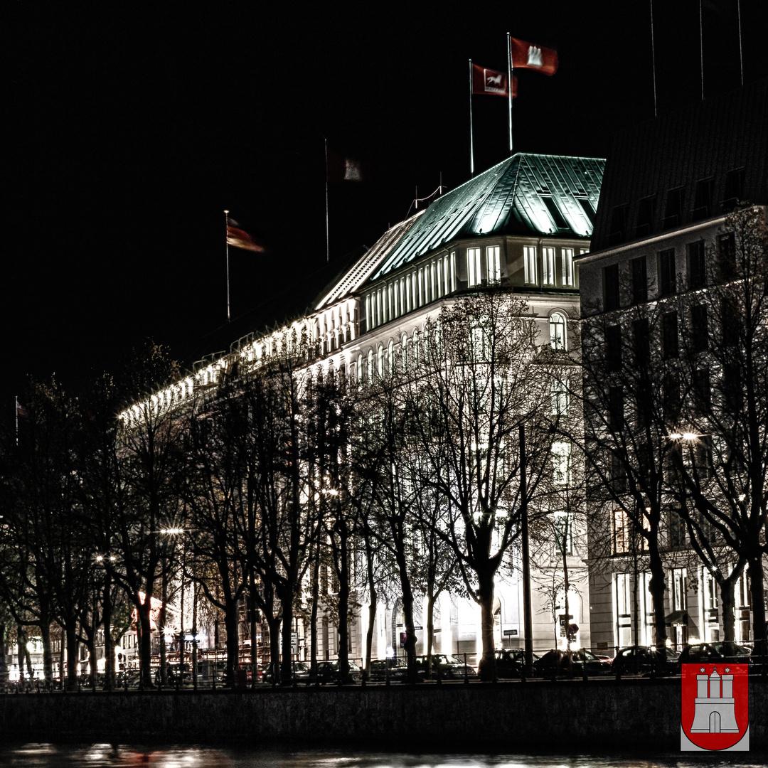 Hamburg Binnenalster Hotel bei NAcht