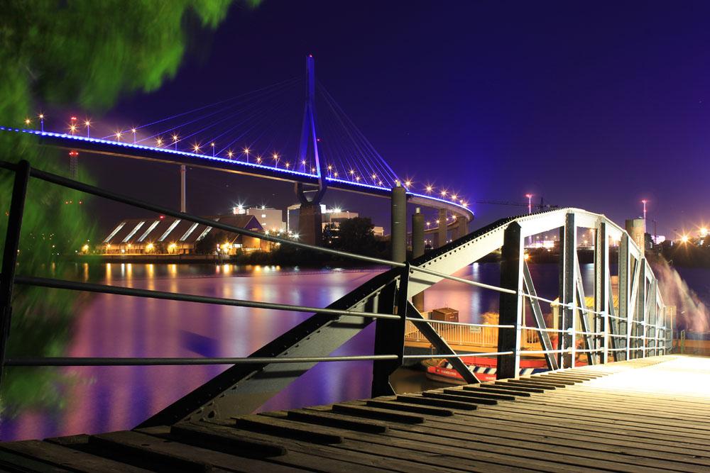 Hamburg - BluePort2014 - Köhlbrandbrücke