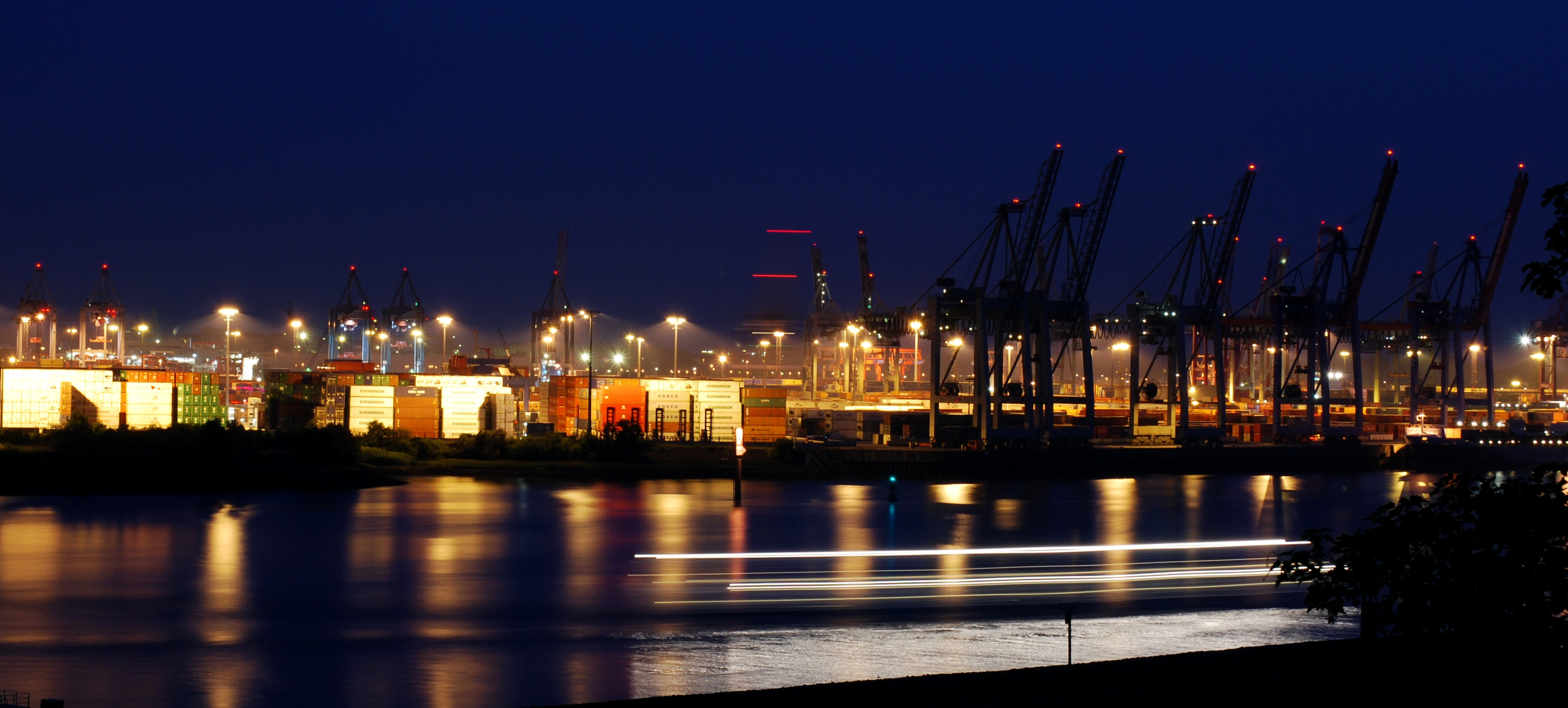 Hamburg Container Hafen