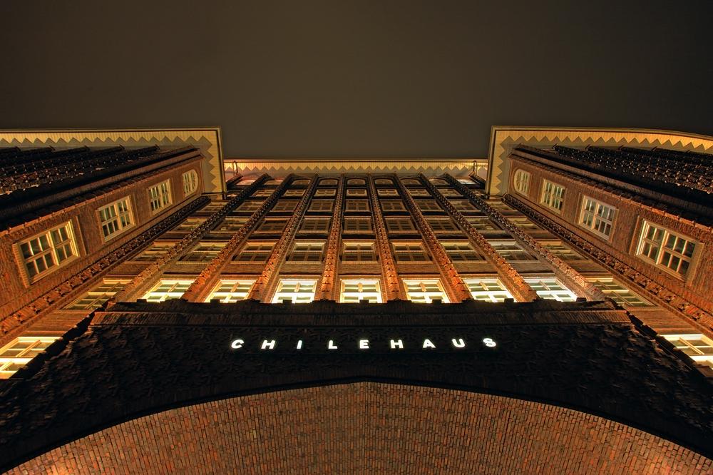 Hamburg Eingang Chilehaus