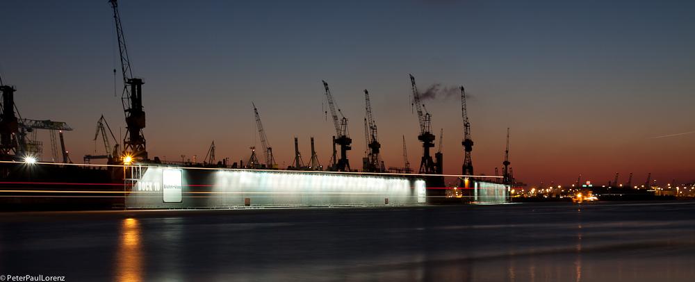 Hamburg Elbe Blohm+Voss