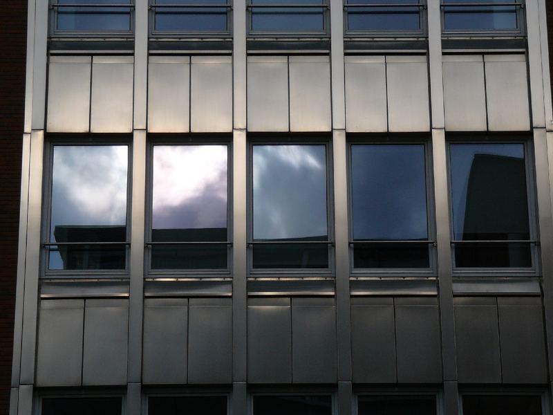 Hamburg Hafen Fenster Reflexion