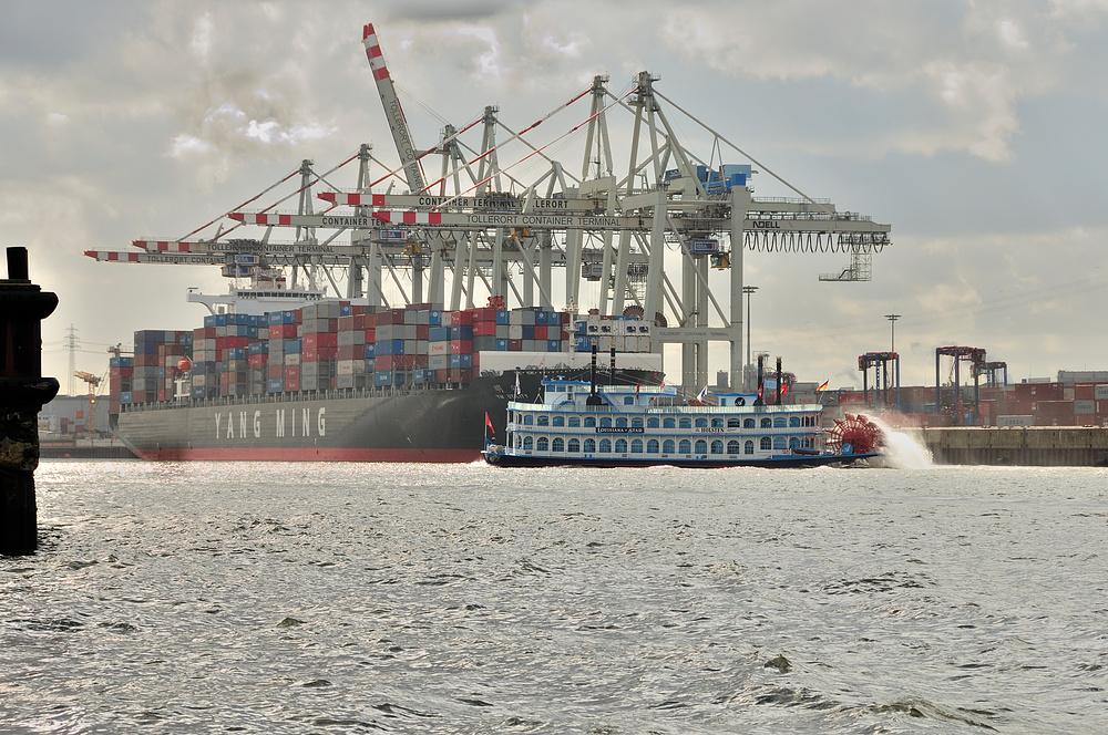 Hamburg-Hafen Größenvergleich 17