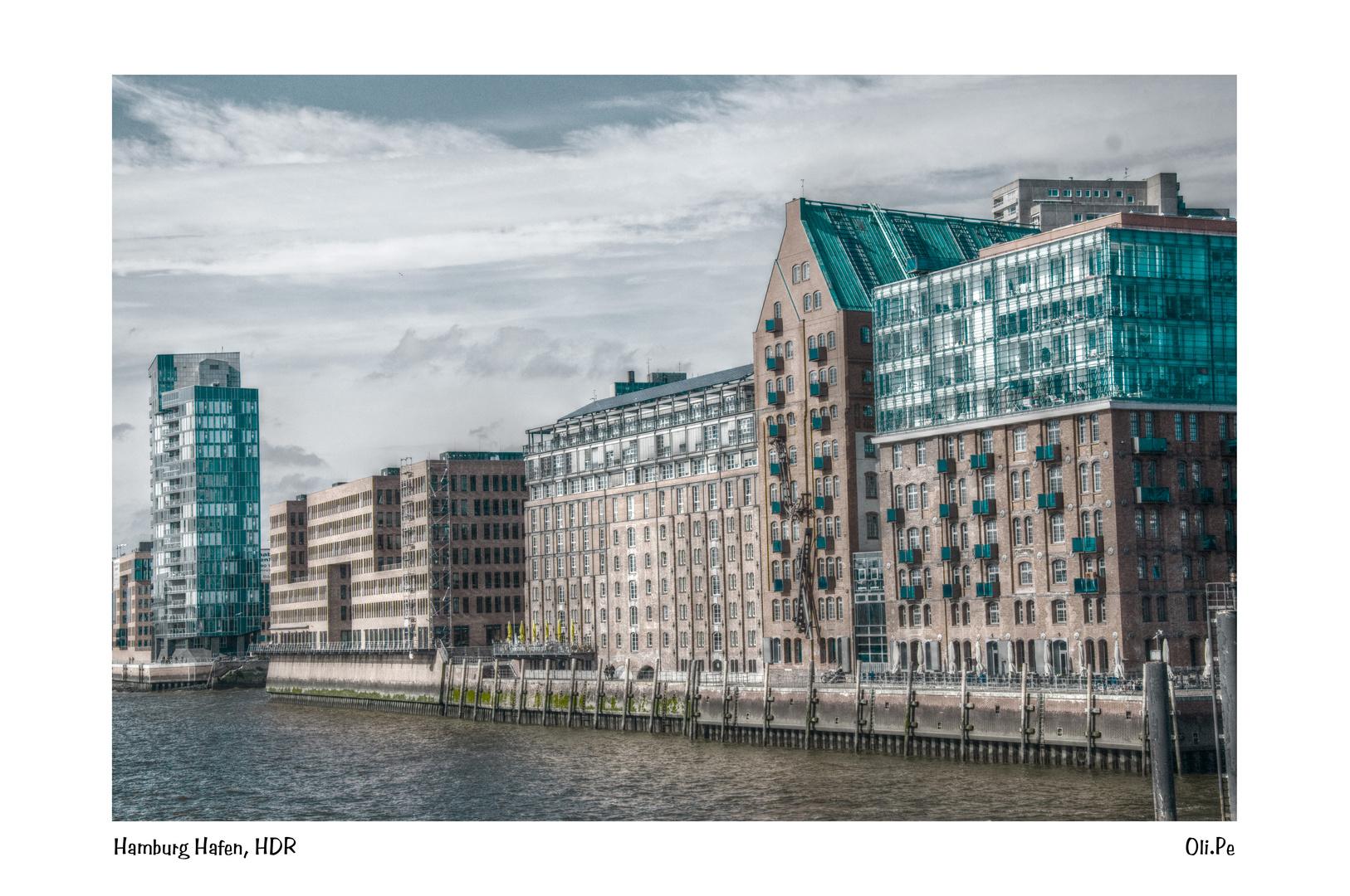 Hamburg, Hafen, HDR