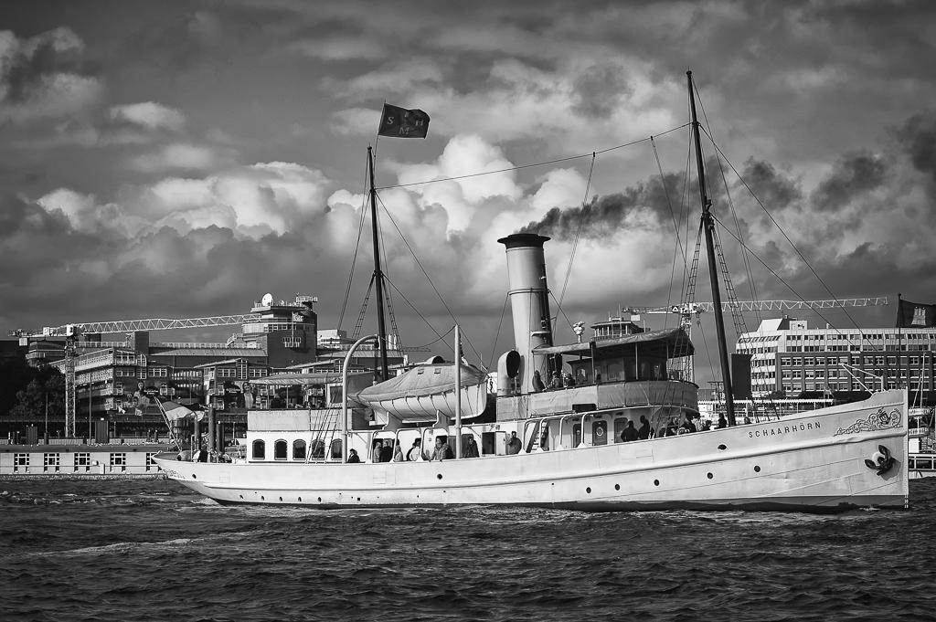 Hamburg Hafen m. Schaarhörn
