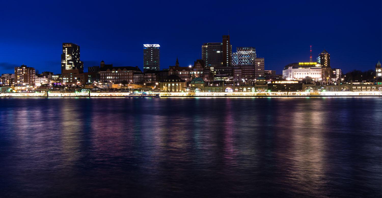 Hamburg Hafen @Night