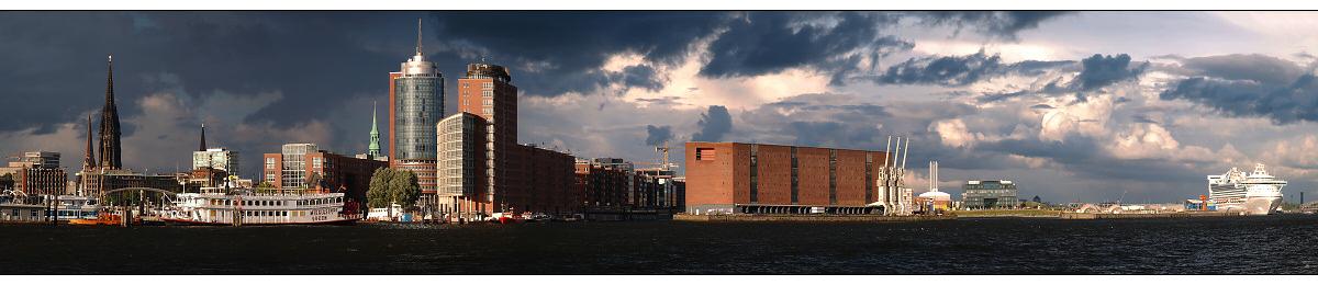Hamburg Hafen Pano
