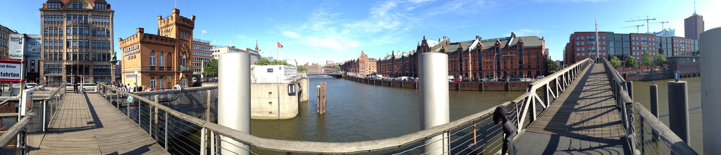 Hamburg Hafen Speicherstadt