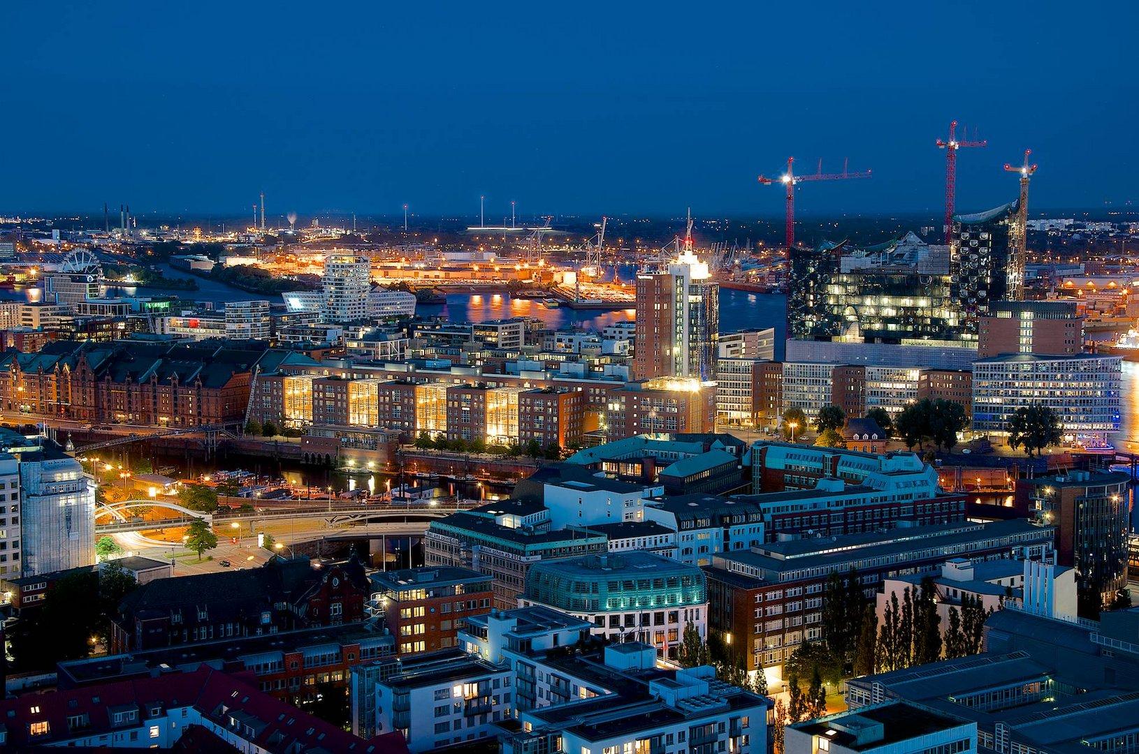 Hamburg Hafencity und Speicherstadt