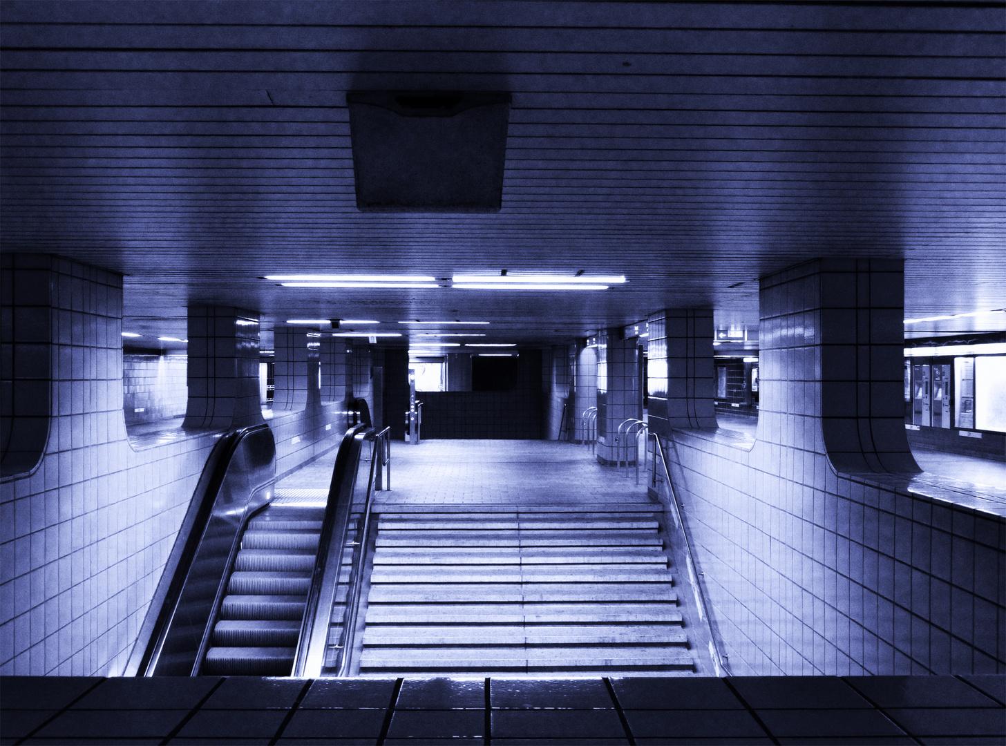 Hamburg Harburg, Richtung Bahnsteig