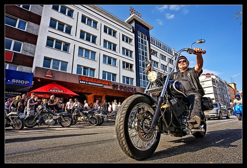 Hamburg Harley Days 2008 /3.