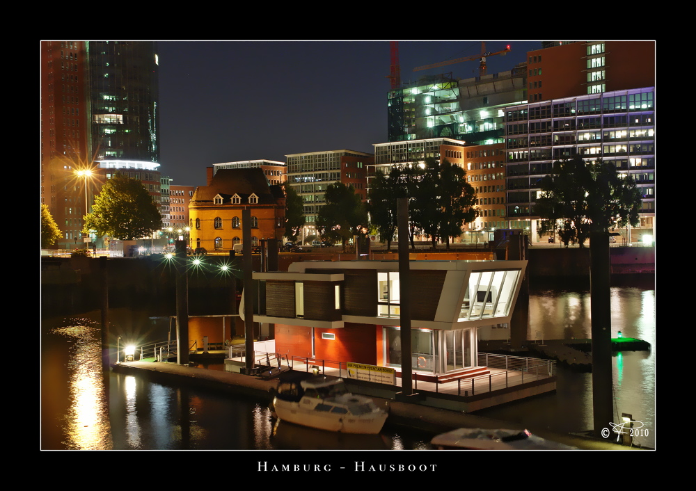 Hamburg - Hausboot