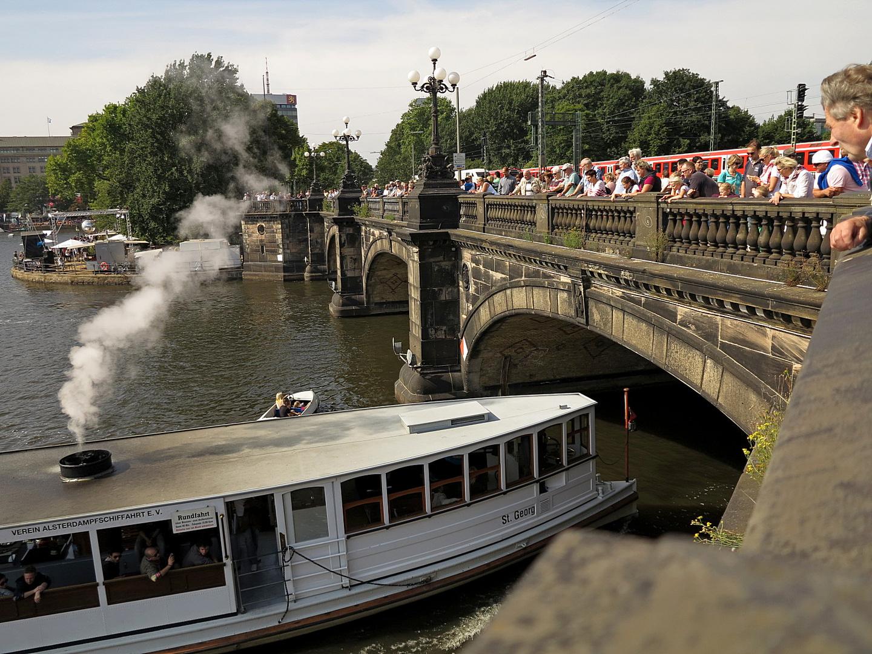 Hamburg - Lombardsbrücke