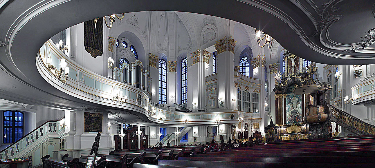 Hamburg. Michaeles Kirche