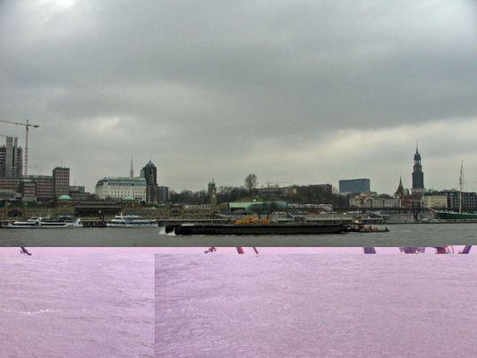 Hamburg mit fehler
