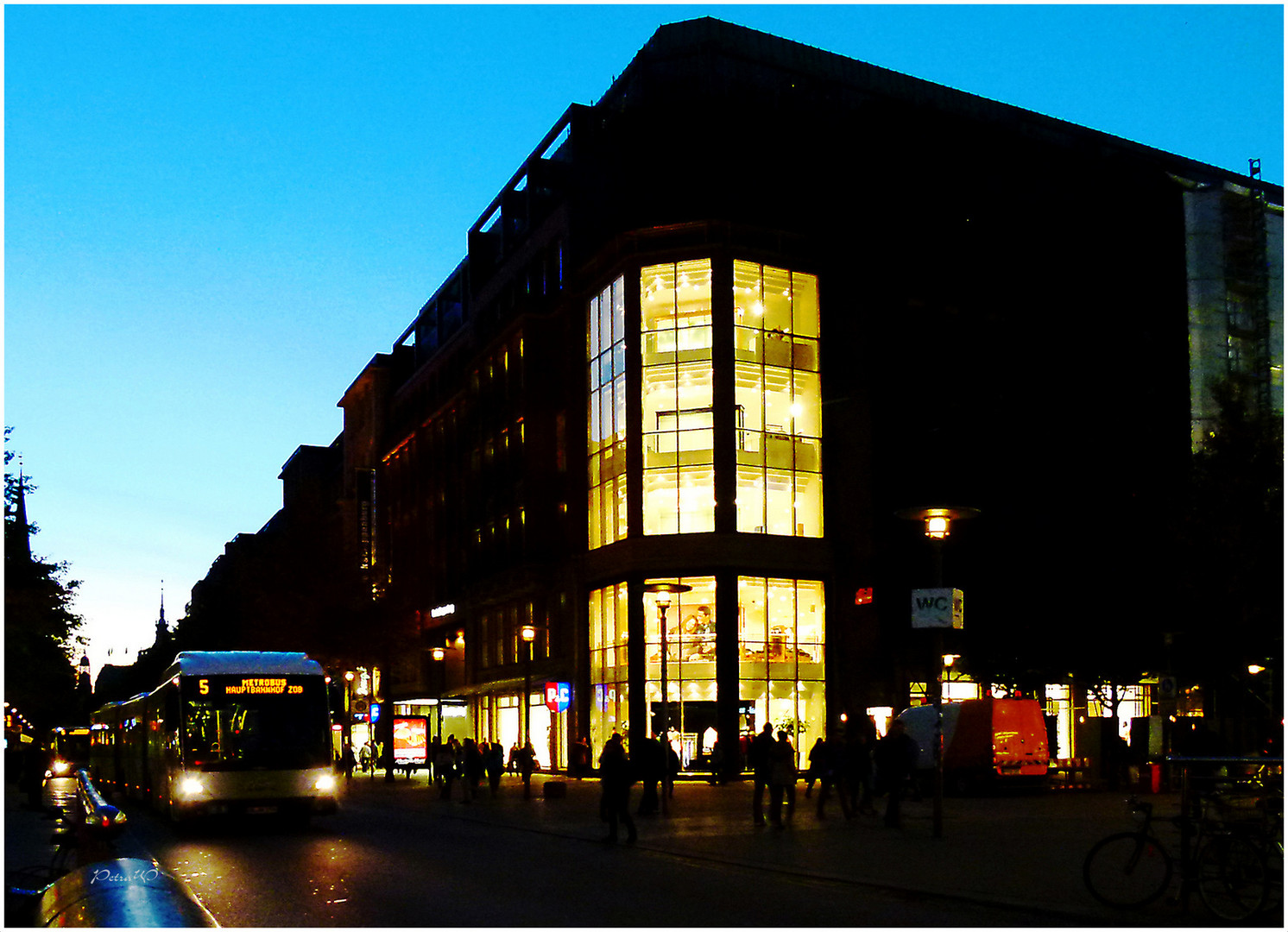Hamburg Mönckebergstraße