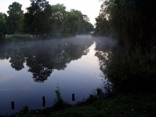 Hamburg morgens um 6.30 Uhr