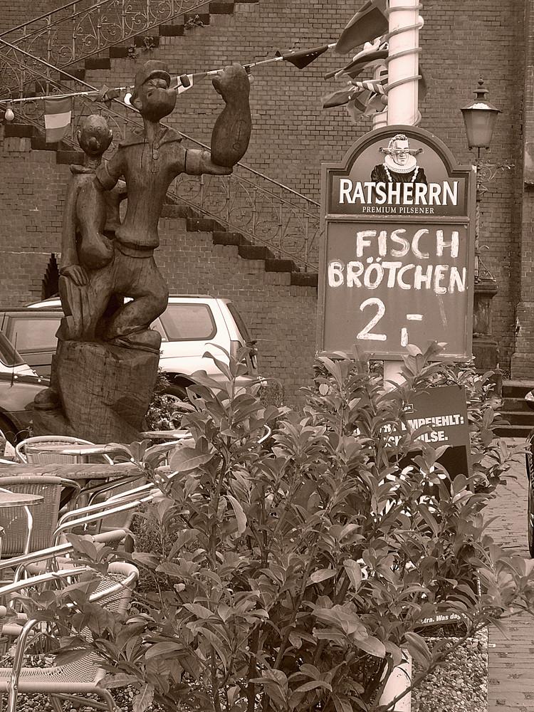 Hamburg - Na, war es nicht nur Spinat?