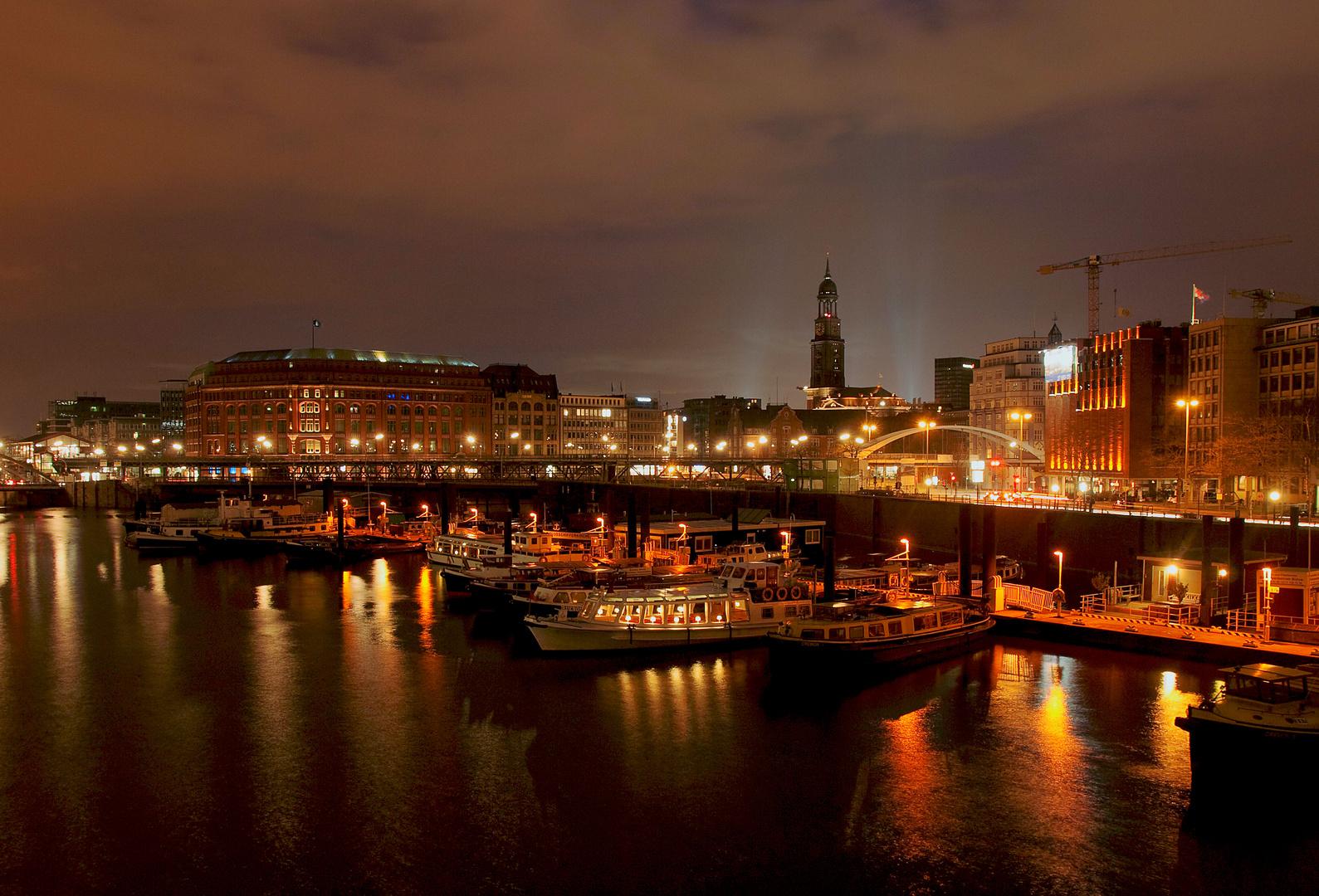 Hamburg nachts