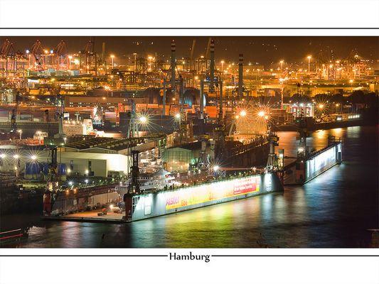 Hamburg @ Night