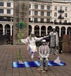 Hamburg Pantomime Rathausplatz