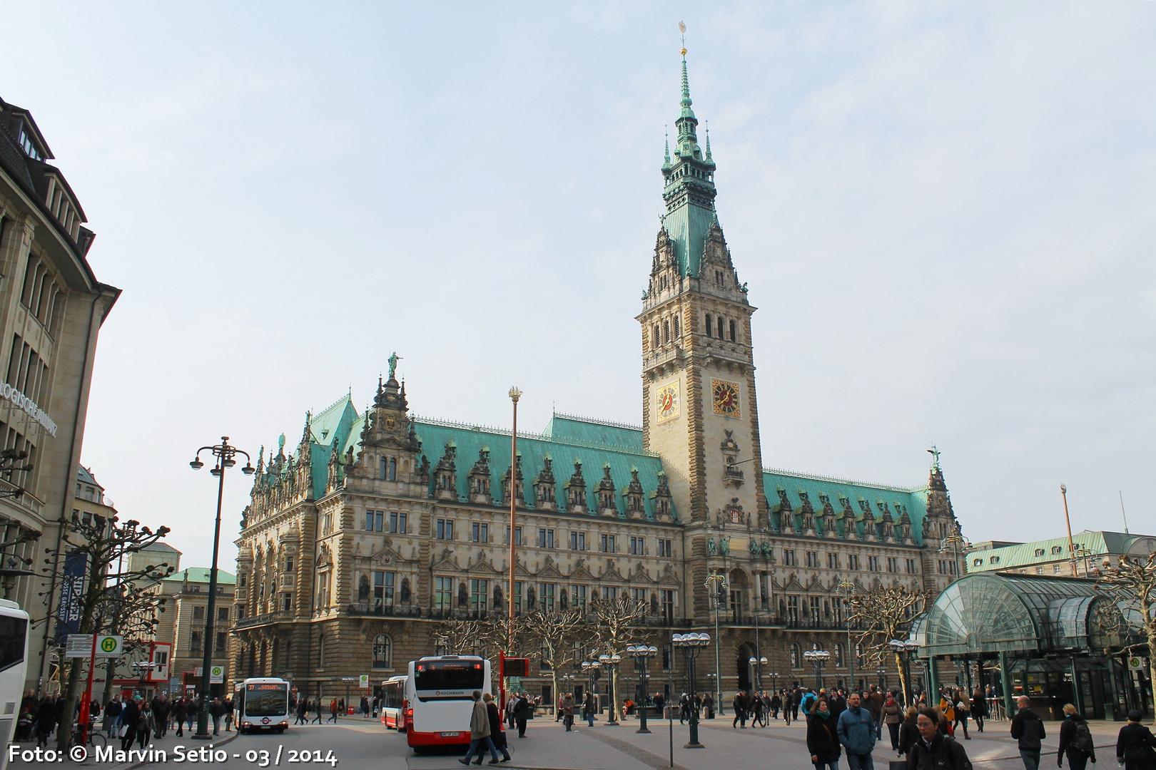 Hamburg - Rathausmarkt