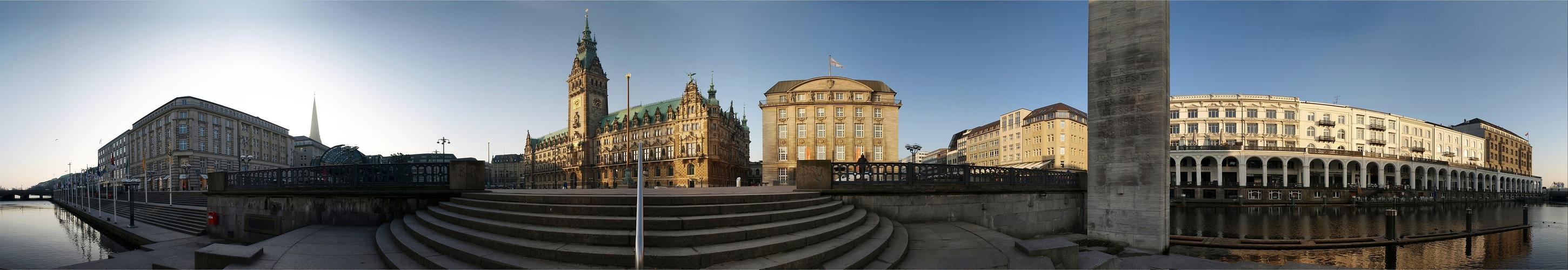 Hamburg Rathausmarkt - Reload