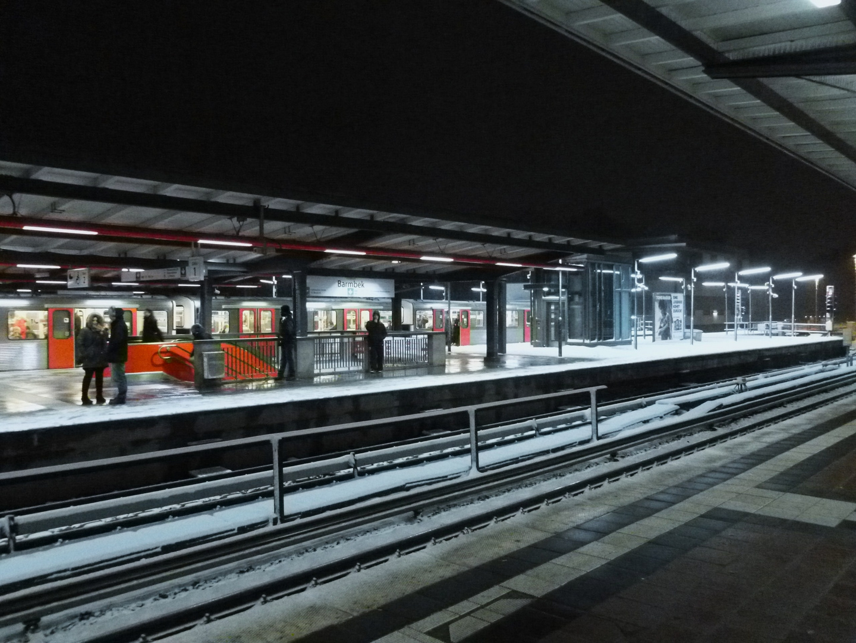 Hamburg S-Bahnstation Barmbeck