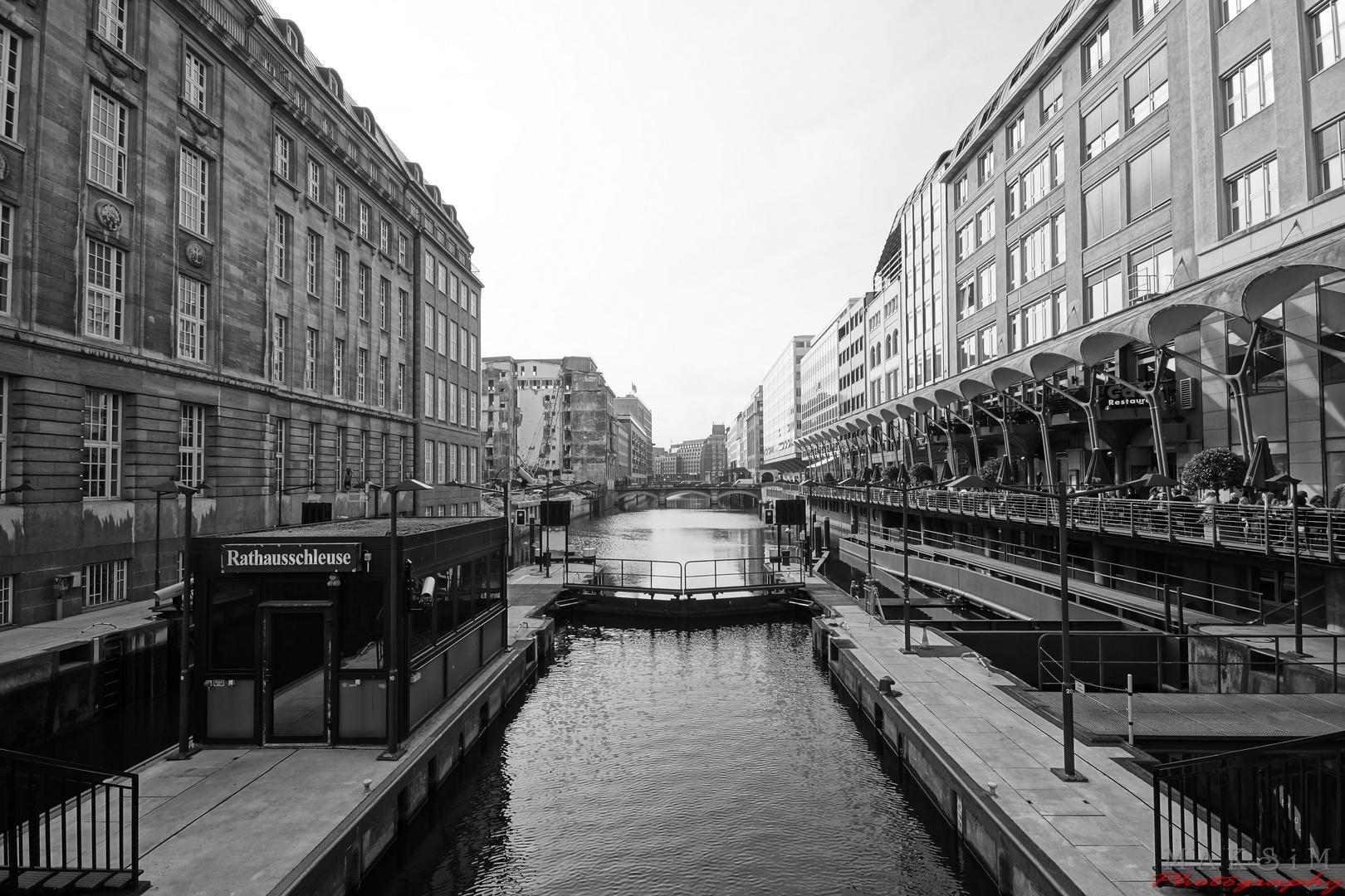 Hamburg Schleuse
