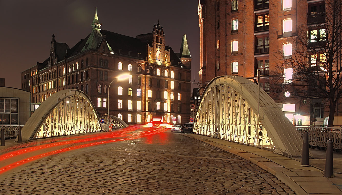 Hamburg. Speicherstadt.
