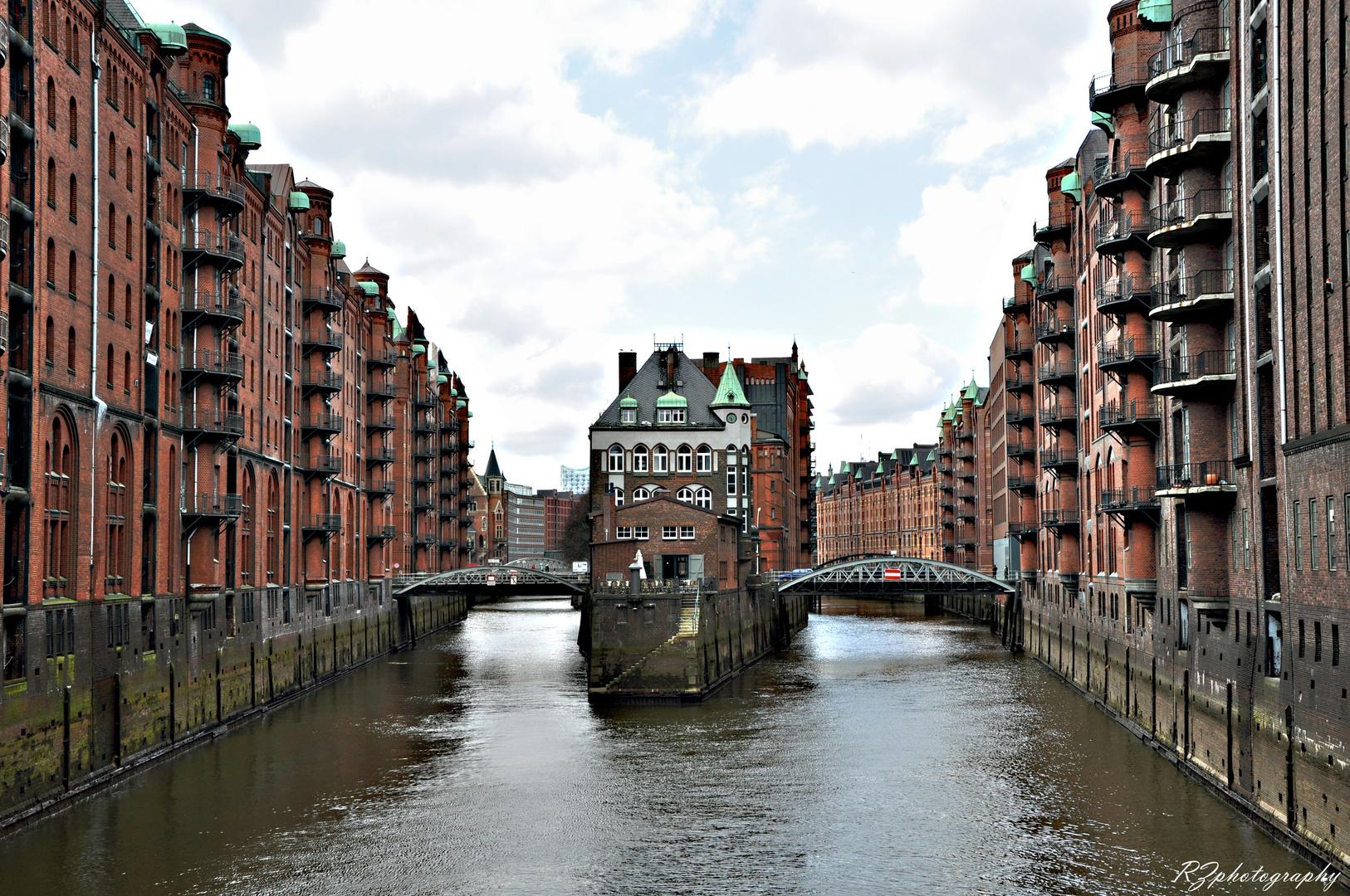 Hamburg Speicherstadt.
