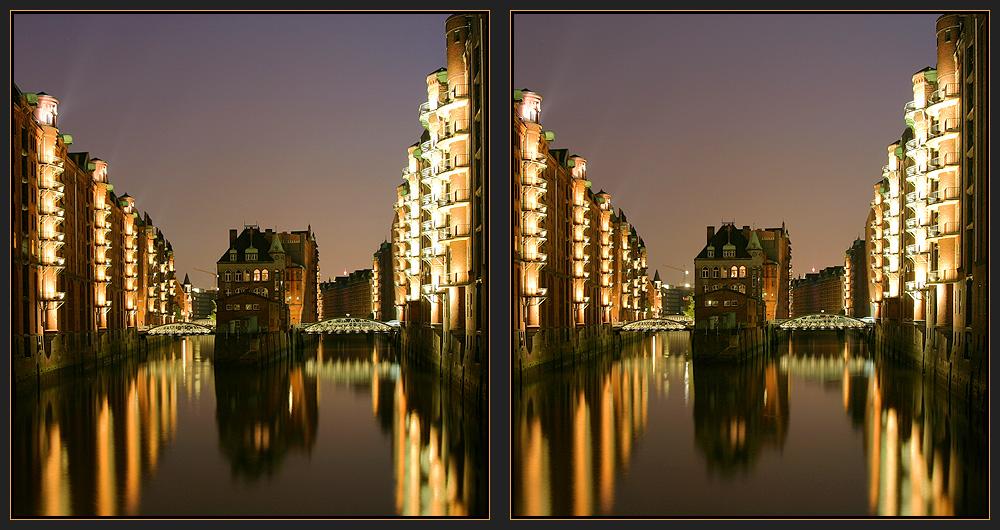 Hamburg - Speicherstadt [3D]