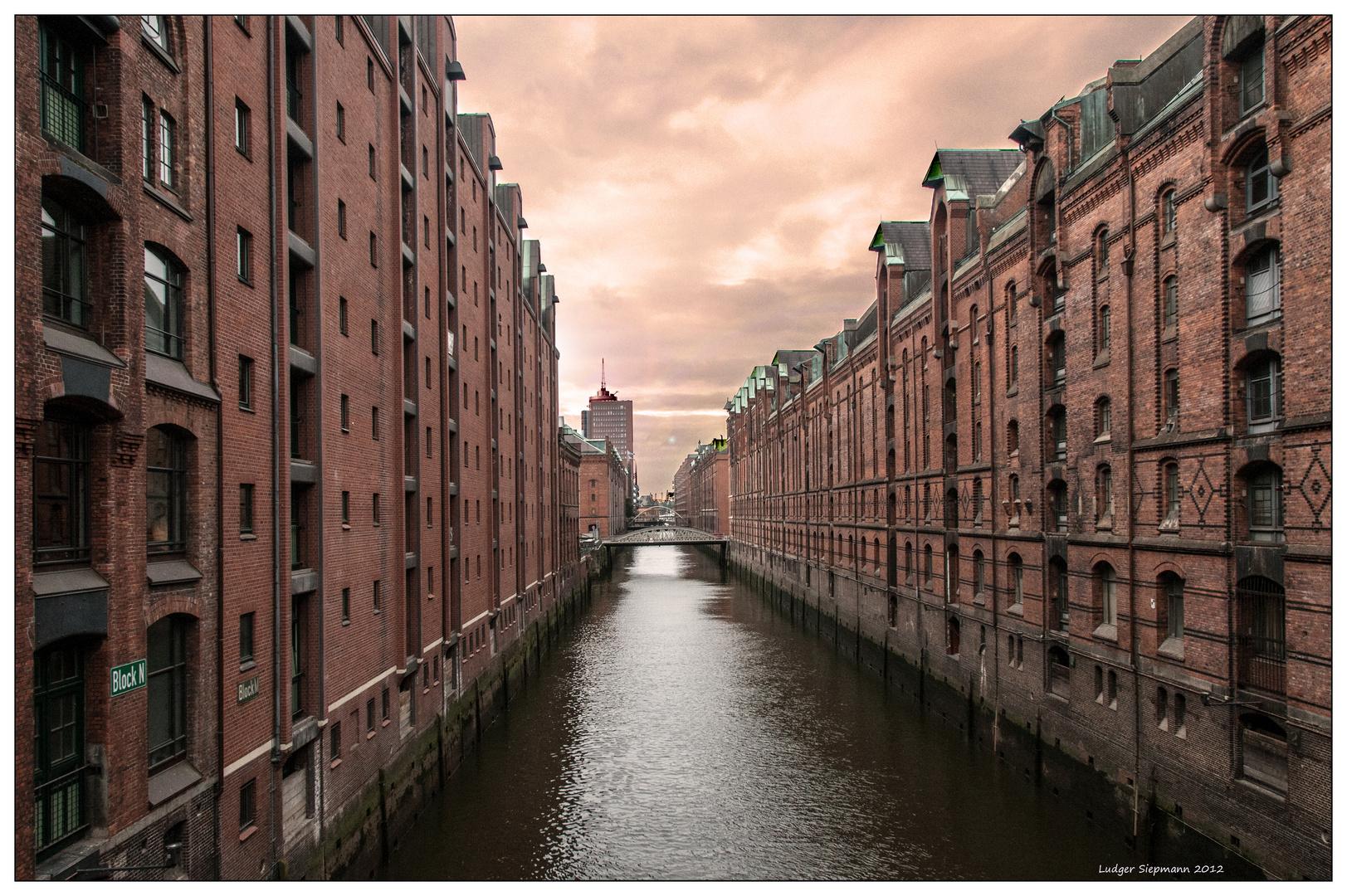 Hamburg. Speicherstadt