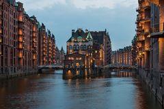 Hamburg, Speicherstadt (UNESCO-Weltkulturerbe)