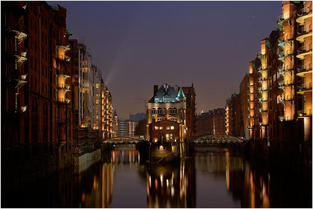 Hamburg - Speicherstadt Wasserschlösschen