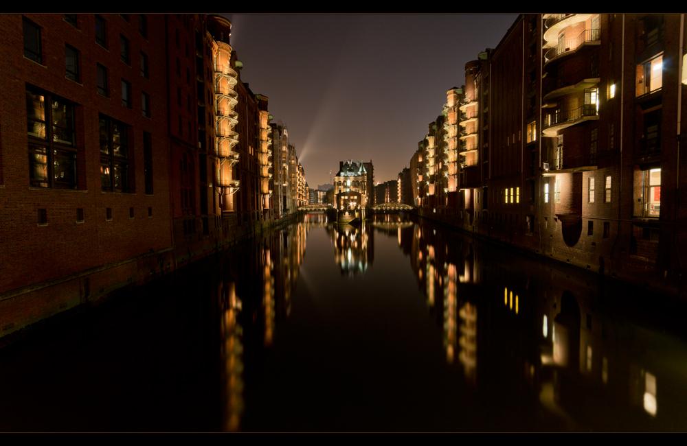 Hamburg Speicherstadt Wasserschlösschen