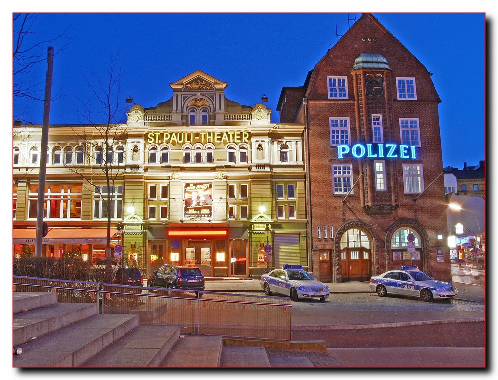 hamburg st pauli polizei dri no 3 foto bild techniken aufnahme techniken dri bilder auf. Black Bedroom Furniture Sets. Home Design Ideas