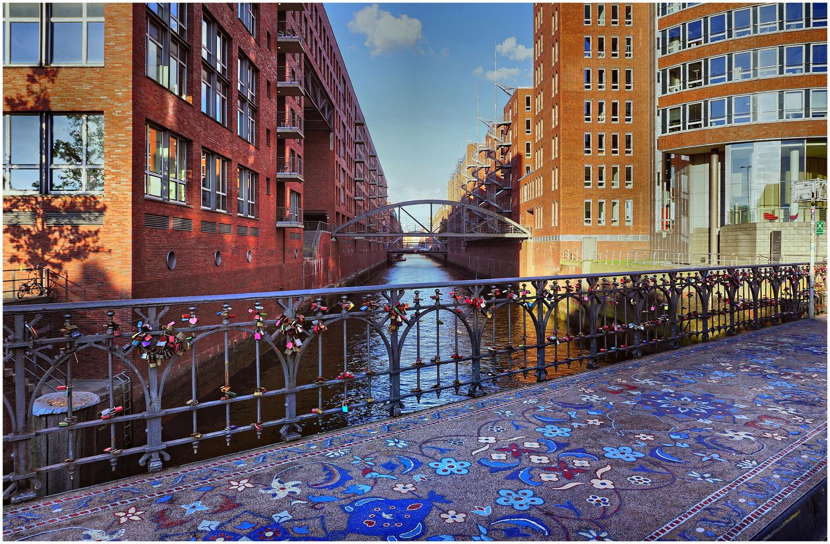Orientteppich Hamburg hamburg steinerner orientteppich wilhelminenbrücke foto bild