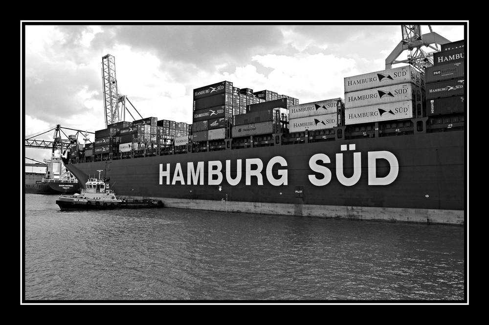 Hamburg Süd in Rotterdam