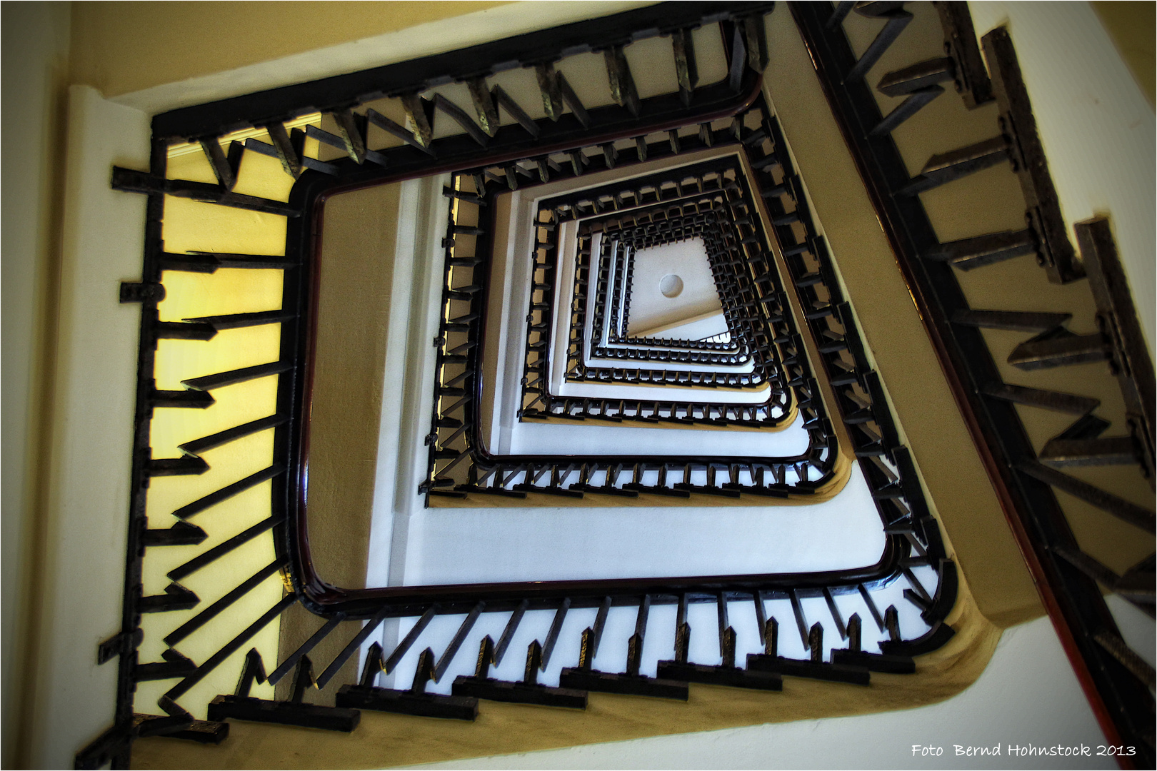 Hamburg Treppenhaus Chile Haus ...