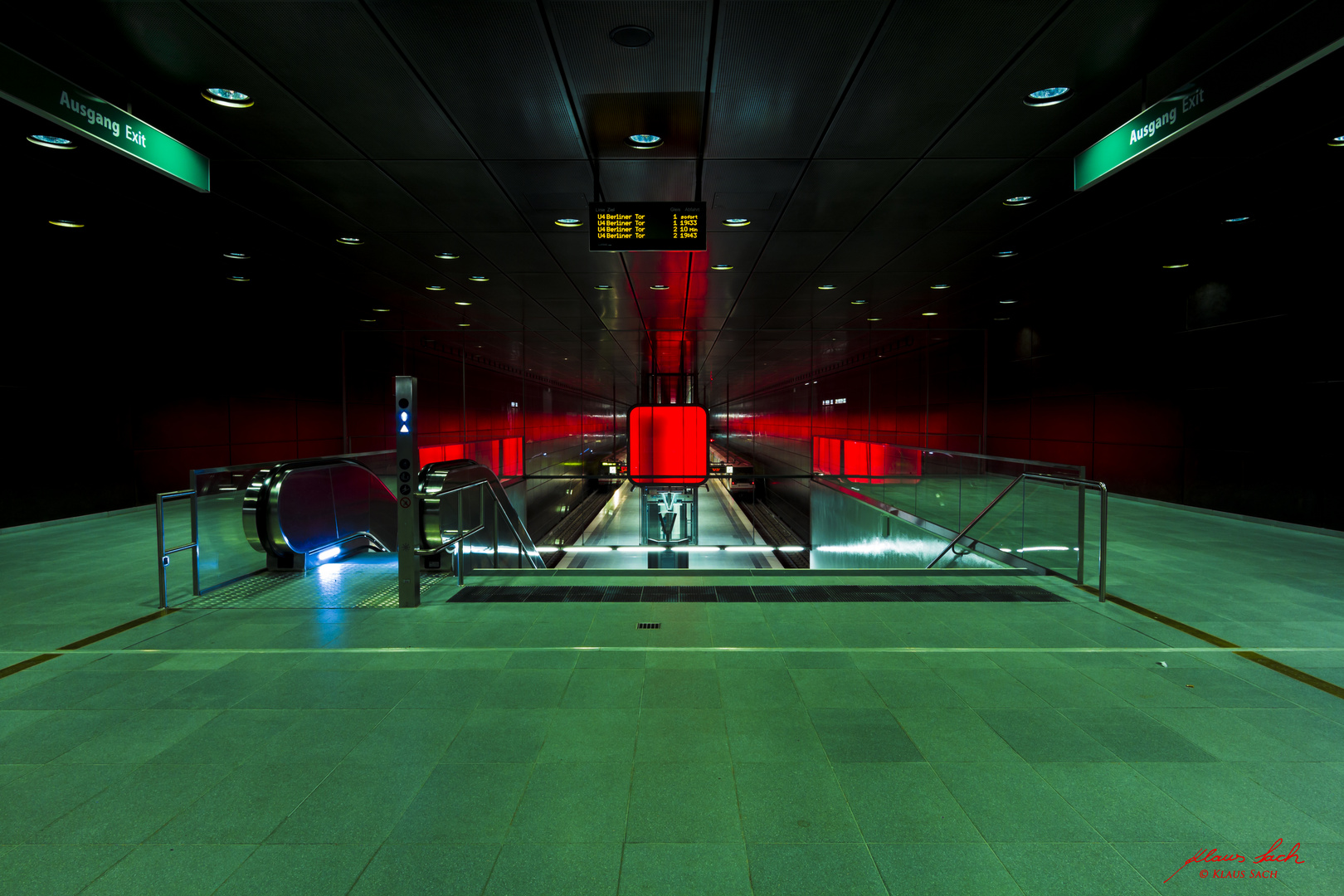 Hamburg U-Bahnstation HafenCity Universität