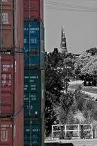 Hamburg und seine Container