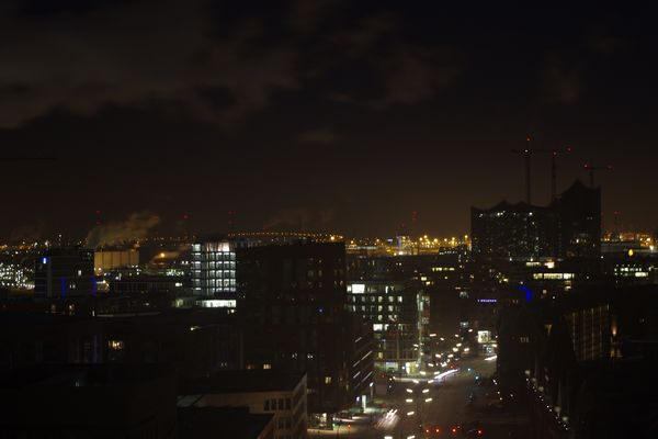 Hamburg vom SPIEGEL Dach 2