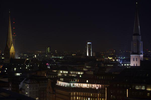 Hamburg vom SPIEGEL Dach 3